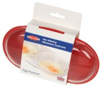 Easy Cook Egg Poacher - Red
